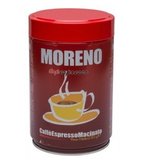 Moreno Caffe, Top espresso, αλεσμένος 250γρ.